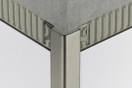 aluminum edge trim schluter eck e