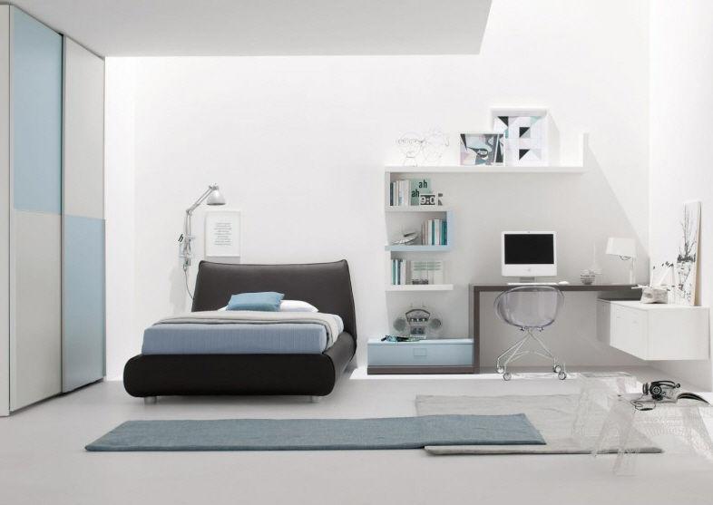 Esegui il download di questa immagine stock: Blue Children S Bedroom Furniture Set Start 25 Clever Boy S
