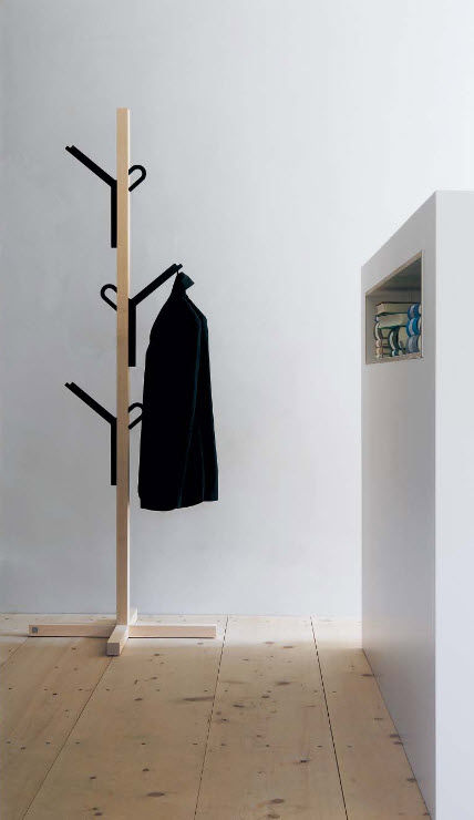 floor coat rack steckling moormann