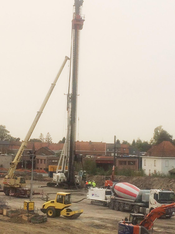 Bored pile - OMEGA - FRANKI FOUNDATIONS BELGIUM - screw / Solid Surface / foundation