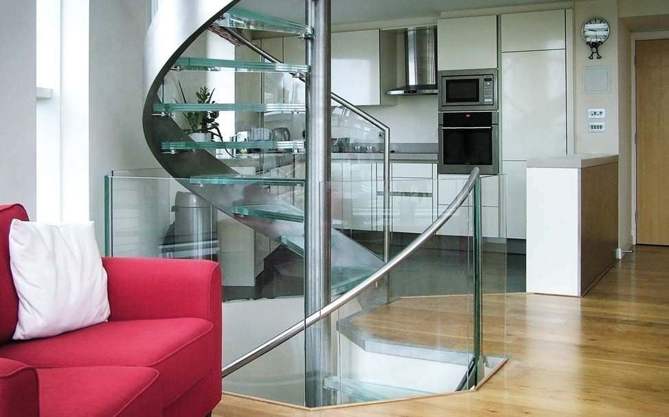 Spiral Staircase Basin Approach Canal Engineering Stainless | Spiral Staircase With Glass Railing | Exterior | In India Staircase | Stair Wood Bracket | Glass Insert | Inside Glass