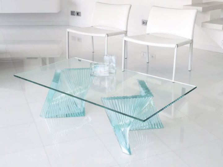 contemporary coffee table fly