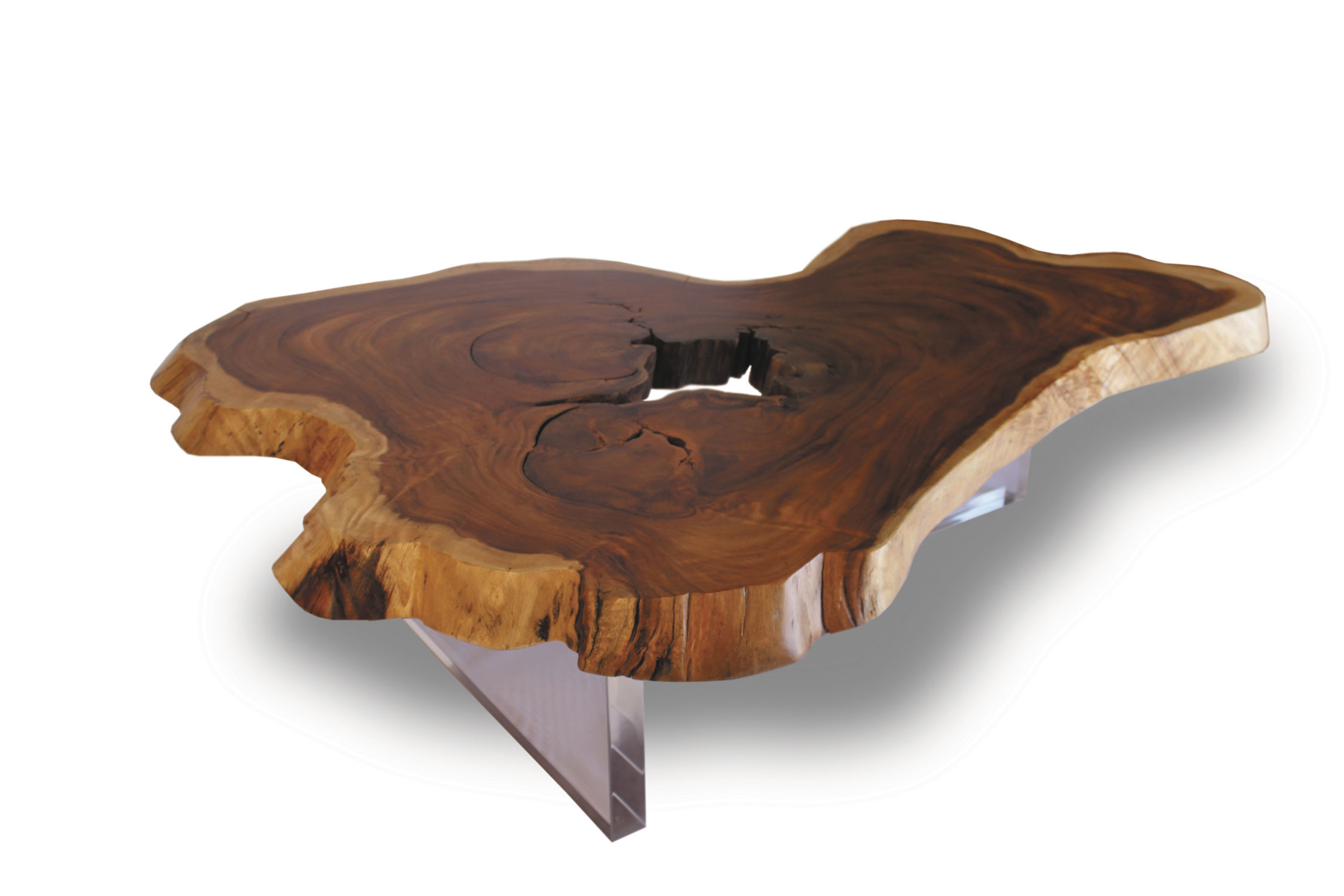 contemporary coffee table floating