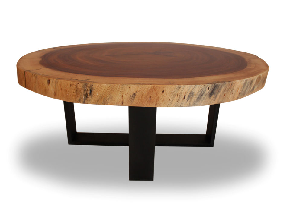 contemporary coffee table round