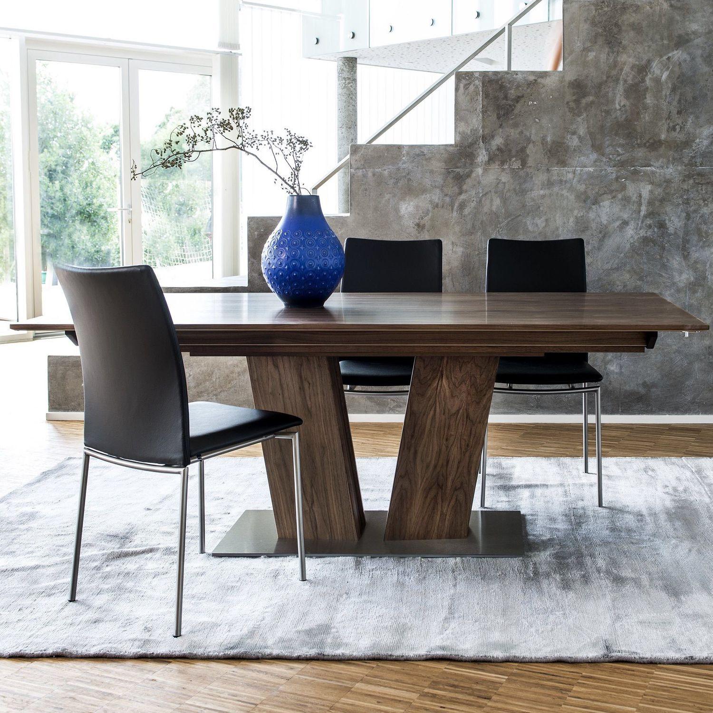 Contemporary Dining Table Oak Walnut Cherrywood 39 Skovby