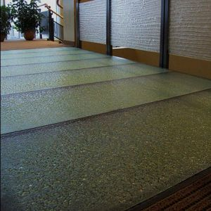 Glass flooring   commercial   tile   textured   ThinkGlass glass flooring   commercial   tile   textured