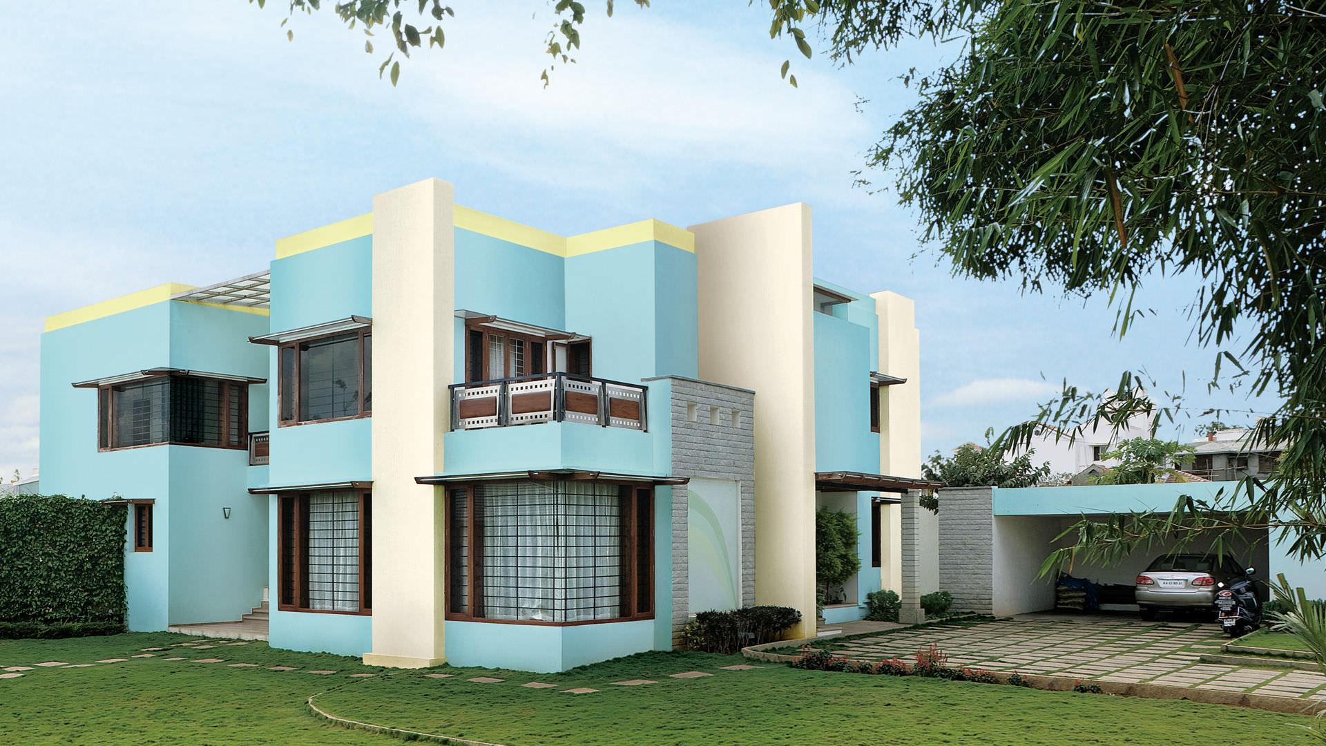 eco friendly exterior paint