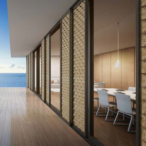 sliding shutter all architecture and