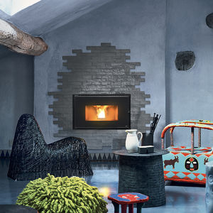 Built In Fireplace Integrated Fireplace All Architecture And Design Manufacturers Videos