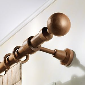wooden curtain rod all architecture