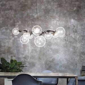 Visualizza altre idee su lampadari, vetro di murano, lampadario in vetro. Contemporary Chandelier Puppet Ring Vistosi Blown Glass Led