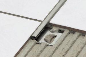 stainless steel edge trim schluter