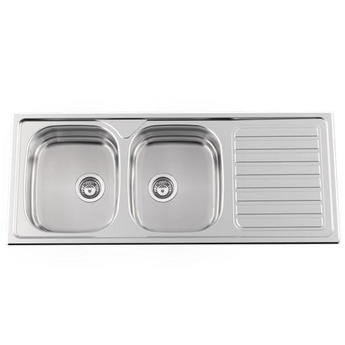 double kitchen sink okio line 120