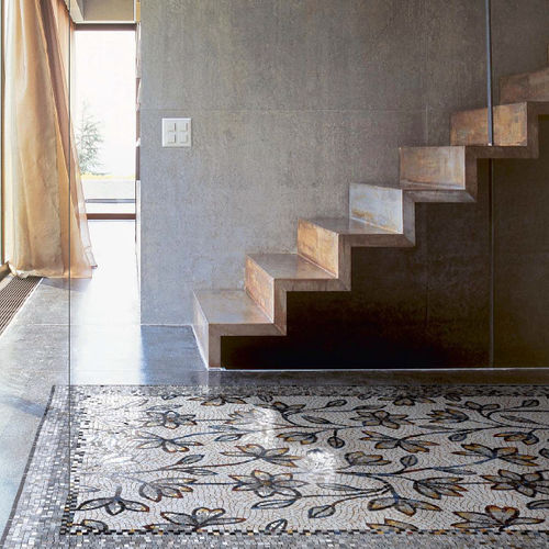 indoor mosaic tile the rug sicis