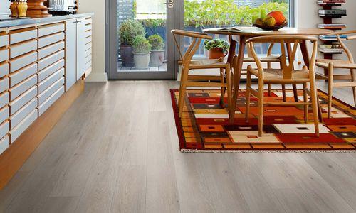 HDF laminate flooring / wood look / click-fit laminate flooring / PEFC-certified COTTAGE GREY OAK L0223-03362 PERGO