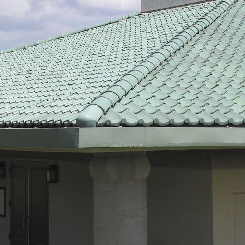 pan roof tile scandia ludowici clay