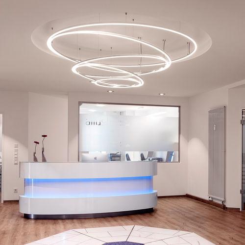Pendant lamp / contemporary / aluminum / acrylic glass TOCCATA Sattler GmbH