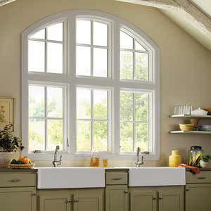 Sash window / aluminum / in wood / triple-glazed MARVIN MARVIN