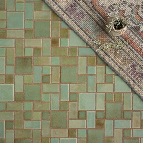 indoor mosaic tile regular craftsman