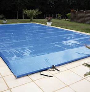 Security swimming pool cover / with rods SAFETECH PISCINES MAGILINE