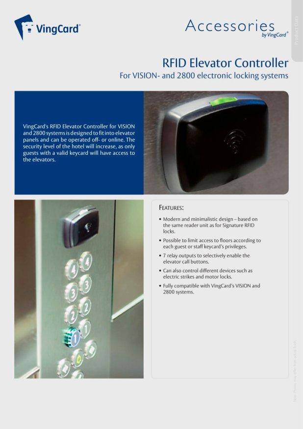 Vingcard 2100 users Manual on