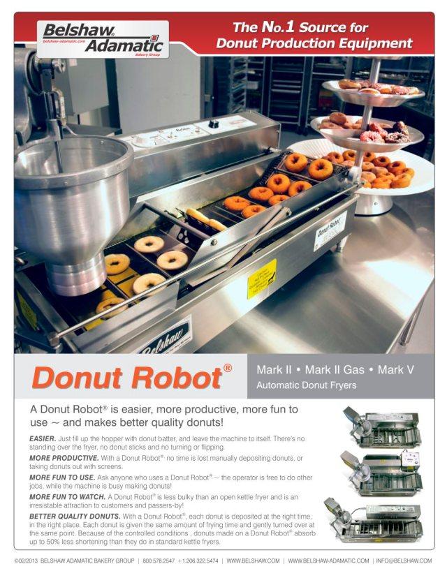 Donut Robot Mark V 1 4 Pages