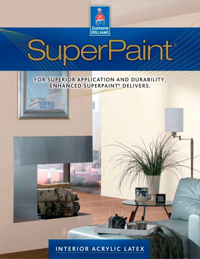 Sherwin Williams Interior Super Paint Data Sheet
