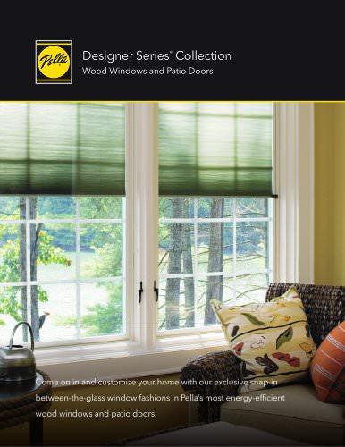 designer series wood windows and patio