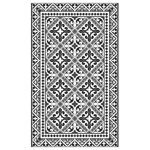 moderner teppich flor de lis l9