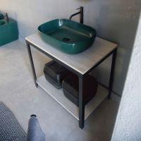 Waschbecken Unterbau / Metall   AB3   Scarabeo Ceramiche ...