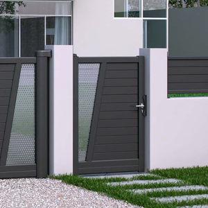 puerta para jardin de aluminio todos