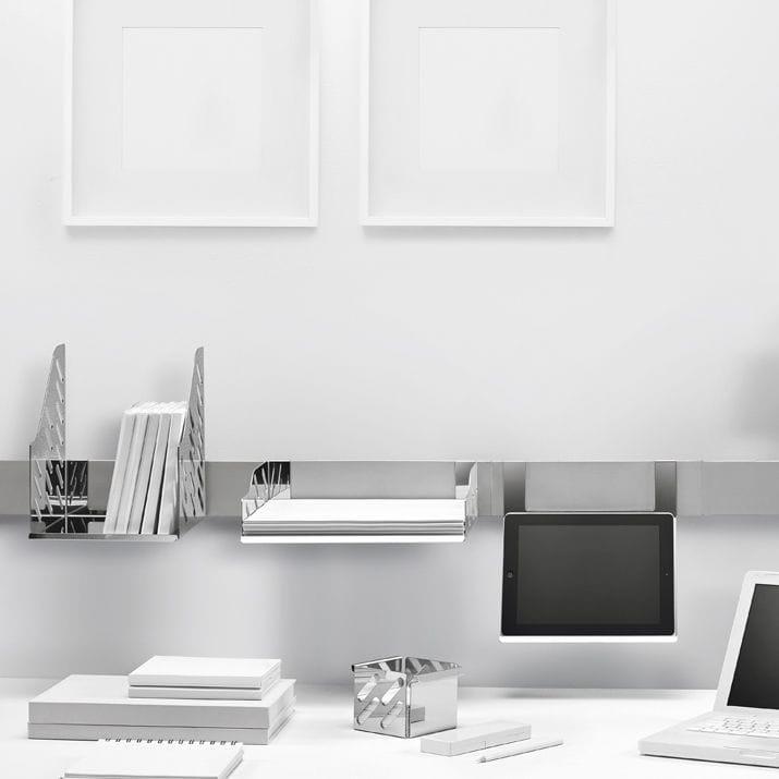 boite de rangement pour fourniture de bureau a fixation magnetique magnetika home office