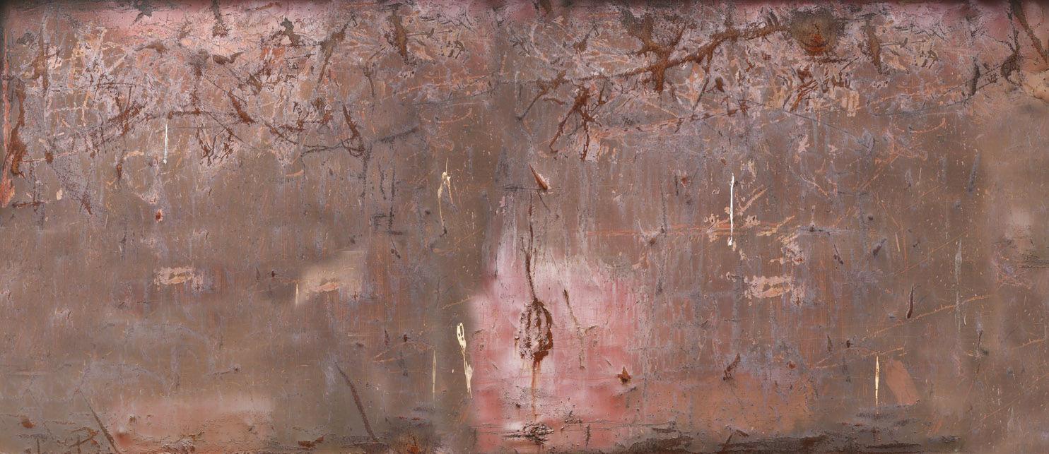 motif abstrait aspect cuivre brun