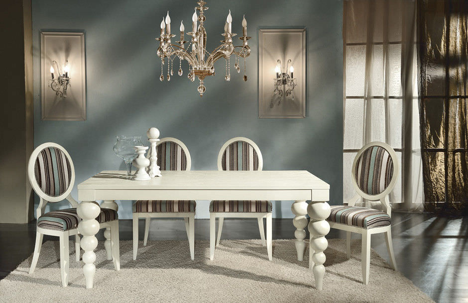 table a manger contemporaine glam