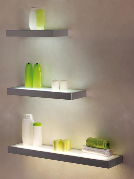 etagere murale light strip medical