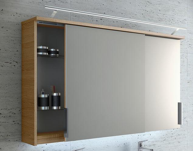Miroir De Salle De Bain Mural Artiqua Gmbh Avec Rangement Contemporain Rectangulaire