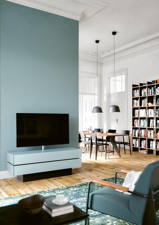 meuble tv contemporain brick
