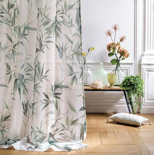 tissu pour rideaux mademoiselle print