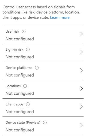Konfiguracja zasad dostępu warunkowego Microsoft Azure Active Directory