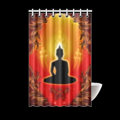 buddha shower curtain 48 x72 id d282781