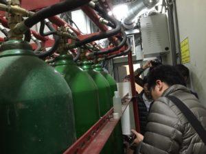 超音波CO2消防鋼瓶液位檢測教育訓練,旭儀,鋼瓶