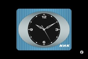 NHK Clock iPhone/iPod App #1