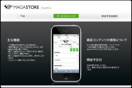 Magastore's Website