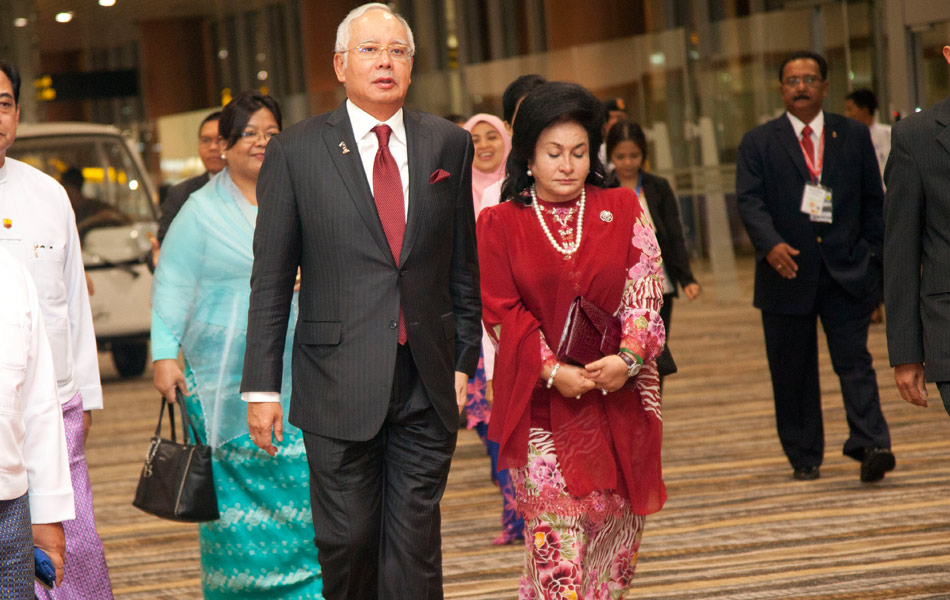 Image result for Najib and Rosmah