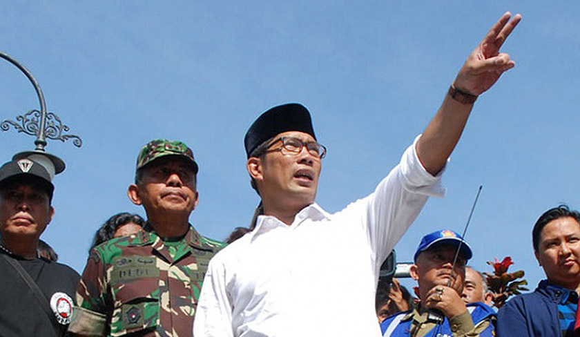 Bandung mayor, Ridwan Kamil, is an architect-turned-politician who will be running for Governorship in 2018. Pix courtesy of Tempo.co
