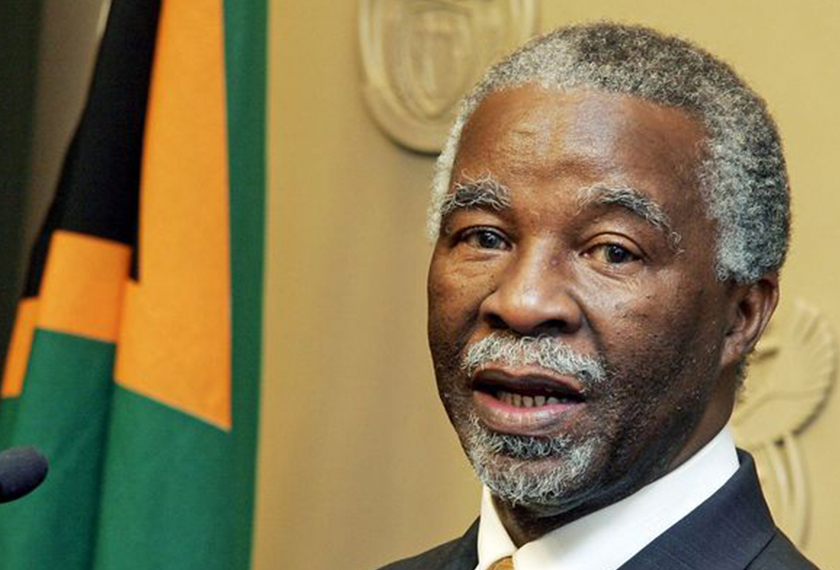 Thabo Mbeki served as South Africa's president from 1999 until 2008. Die Burger/Mlandeli Puzi/Gallo Images