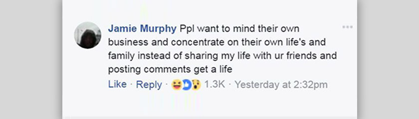 Murphy anggap penyiaran gambarnya oleh polis sebagai perbuatan 'jaga tepi kain'.