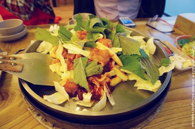 韓國江原道 ▌김유정역닭갈비 金裕貞站辣炒雞排 到春川辣炒雞排的故鄉吃雞排