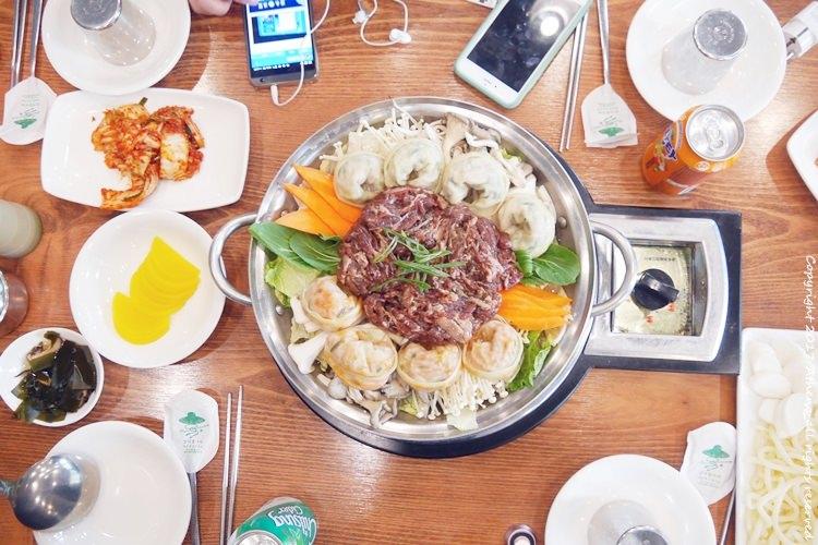 韓國食記 ▌仁川美食:해미루 烤肉餃子湯 韓國電視台SBS MBC報導店 近青蘿湖水公園