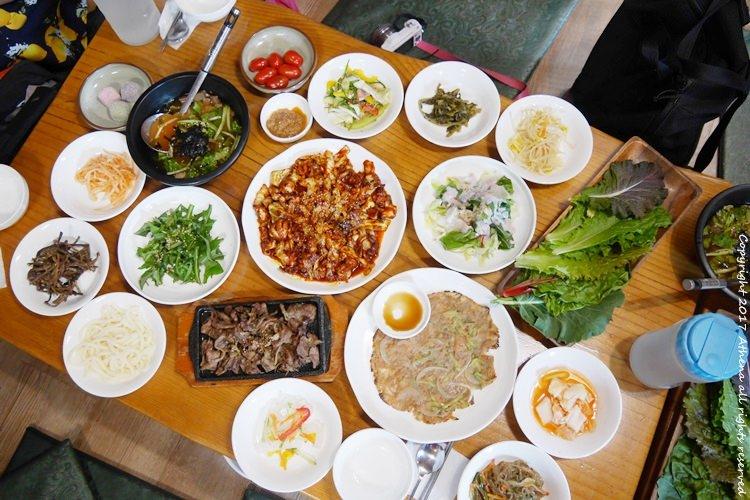 韓國 ▌京畿道美食 : 楊平민들레식당 蒲公英食堂 美味的辣炒小章魚及豬肉套餐 #一人可吃